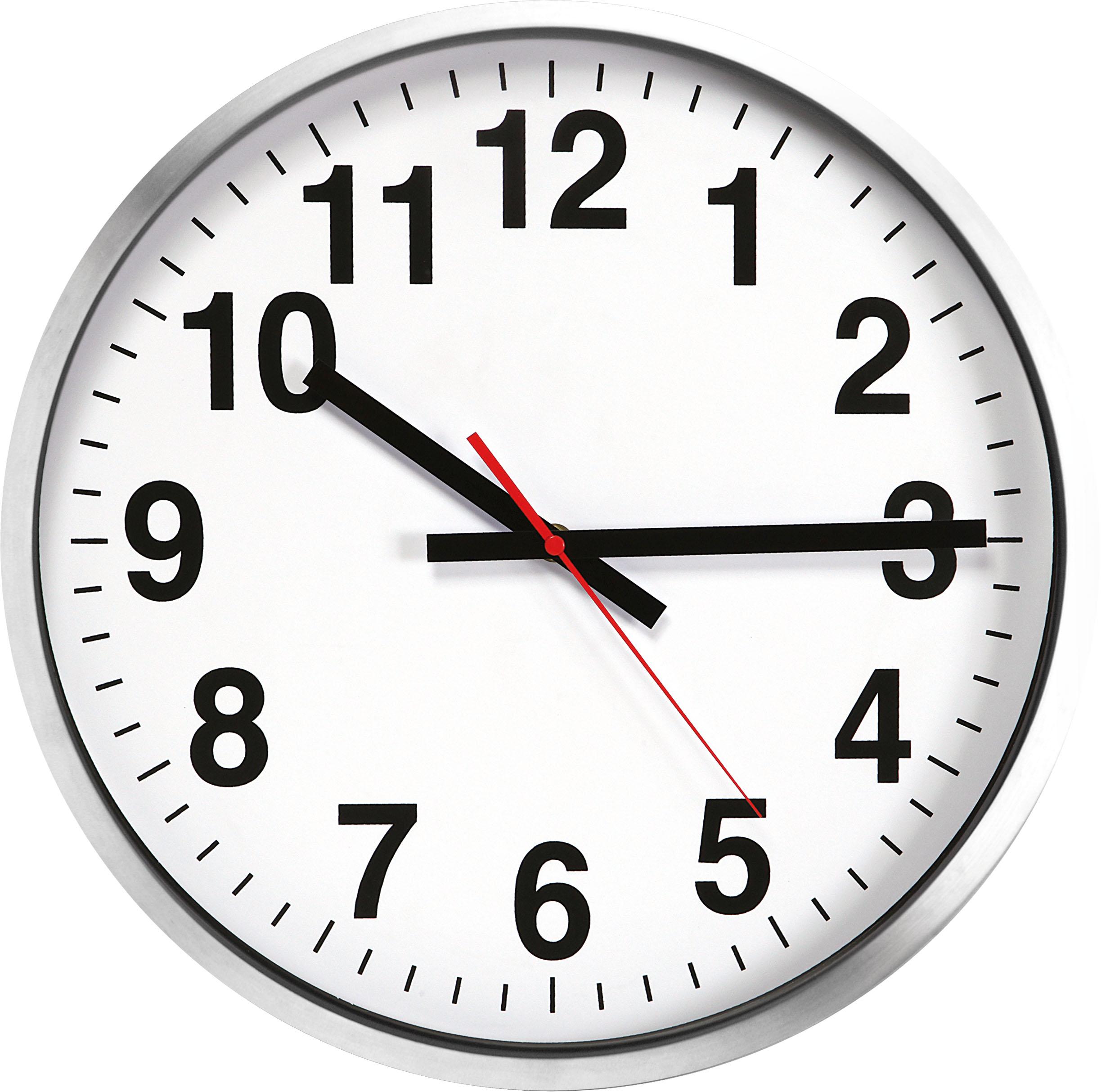 Grande orologio da muro parete maxi in alluminio diametro for Foto orologio da parete